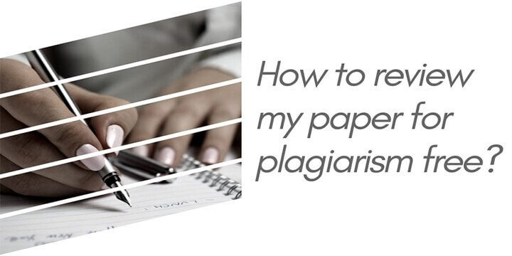 No plagiarism papers